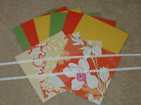 STAMPIN UP BEYOND THE GARDEN CARD KIT RIBBON *6* NEW