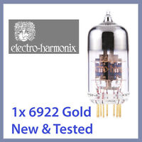 1x NEW Electro Harmonix 6922 EH Gold 6922EH Vacuum Tube GOLD TESTED