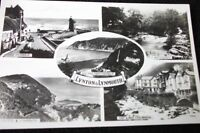 OLD MULTIVIEW POSTCARD OF LYNTON & LYNMOUTH