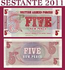 GREAT BRITAIN / BRITISH ARMED FORCES - 5 NEW PENCE ND (1972)- P M47 - FDS / UNC