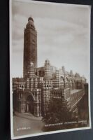 OLD POSTCARD OF WESTMINSTER CATHEDRAL LONDON 1939