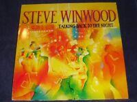 STEVE WINWOOD talking back to the night LP PS EX/EX