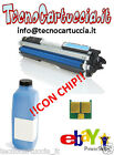 Kit di Ricarica Toner per HP LaserJet Pro M 175 NW CE 311 A Ciano Chip + Polvere