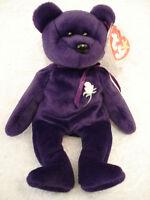 TY Princess Diana Beanie Baby Bear Original Unnumbered copyright: 1997 rare