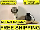 NEW Country Living Grain Mill Motor Kit - Motorization - Motorize - Power-Pulley