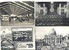 ROMA LOTTO 4 CARTOLINE B/N VIAG ANNI 50/60 REGALO OCC