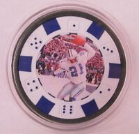 Deion Sanders -Prime Time- POKER CHIP CARD GUARD PROTECTOR *WSOP*