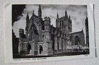 Real Photograph Postcard Hereford Cathedral from South West Vintage