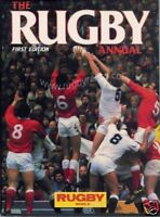 THE RUGBY ANNUAL 1986 RUGBY BOOK