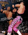Bret Hart Bill Goldberg Signed WWE WCW 8x10 Photo PSA/DNA COA Picture Autograph
