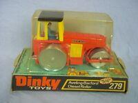 Dinky Toys #279 - Aveling-Barford Diesel Roller - Boxed - Near Mint
