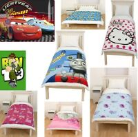 NEW BEDROOM FLEECE BLANKET THROWS CHILDRENS BOYS / GIRLS NOVELTY / TV CHARACTERS