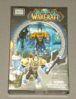 MEGA BLOKS World of Warcraft WOW Set 91001 Colton Figure Human Paladin NEW