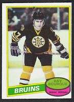 1980 81 OPC O PEE CHEE 140 RAY BOURQUE EX+ RC BOSTON BRUINS HOCKEY ROOKIE CARD