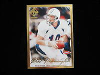 2000 Private Stock Chad Pennington gold rookie card RC  Jets  #ed 115 / 181