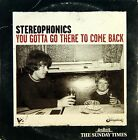 CD 1251 - Stereophonics - You gotta go there to come back