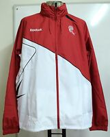 BOLTON WANDERERS RED/WHITE RAIN JACKET BY REEBOK ADULTS SIZE LARGE BRAND NEW