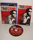 JEU SONY PLAYSTATION 2 PS2 TRUE CRIME STREETS OF LA COMPLET