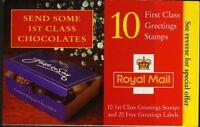 1998 KX11 GREETINGS  CHOCOLATE -  BOOKLET