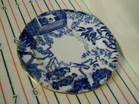 ROYAL CROWN DERBY BLUE MIKADO BREAD PLATE