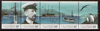 AUSTRALIA ANTARCTIC TERRITORY 2011 EXPEDITION STRIP OF 5 UNMOUNTED MINT MNH