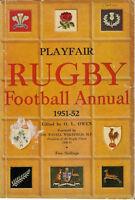 PLAYFAIR RUGBY FOOTBALL ANNUAL BOOK 1951-1952