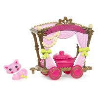 Mini Lalaloopsy Silly Pet Parade Spinning Pretty Wagon  NEW