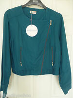 RRP £49.50 LADIES M&S INDIGO SIZES 12 OR 14 FULLY LINED JACKET BNWT