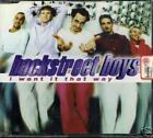 BACKSTREET BOYS - I want it that way (CD Single)