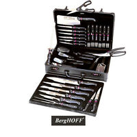 Berghoff Knife Set with Travel Case - 32 Pieces - Cutlery Kitchen Chef Knives