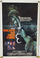 ESCAPE FROM NEW YORK FF ADV ORIG 1SH MOVIE POSTER KURT RUSSELL (1981)