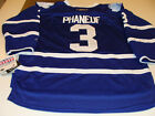 2011-12 Toronto Maple Leafs Dion Phaneuf Hockey Jersey L/XL Reebok Youth Home