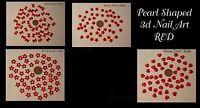 3d Nail Art Pearl Bead Pearl Shaped Bows Hearts Stars Bowties Decoration - Uk