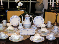 edles hochpreisiges Kaffeeservice Royal Limoges Fontainebleau neuw. 12 Personen