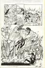 Avengers #8 p.13 Triathalon Splash w/ Whole Team & Captain America, George Perez