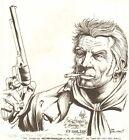 Jonah Hex Commission - 1997 Signed original art by Tim Truman