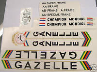 Gazelle set of decals vintage #2