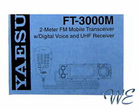 NEW Yaesu FT-3000M Operating Manual Book in English
