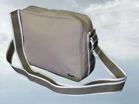 LACOSTE Unisex Shoulder Messenger Bag Casual 2.17 Light Beige