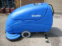 "CLARKE ENCORE S33 33"" Walk-Behind Floor Scrubber"