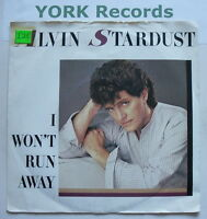 "ALVIN STARDUST - I Won't Run Away - Excellent Condition 7"" Single CHS 2829"