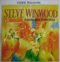 STEVE WINWOOD - Talking Back To The Night - Ex Con LP