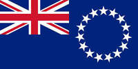 COOK ISLANDS FLAG 3' x 2' New Zealand Flags
