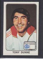 Panini - Football 79 - # 64 Tony Dunne - Bolton