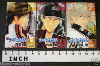JAPAN Takeshi Konomi manga: New Prince of Tennis vol.5~7 Set