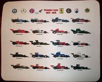 F1 formula 1 All cars 72-74 Tyrrell 34 LTD Ed MOUSE MAT