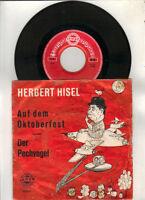 Herbert Hisel  auf dem Oktoberfest - der Pechvogel
