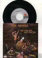 La Bionda  - One for me , one for you 1978