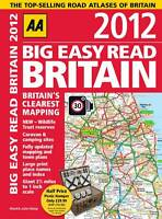 Big Easy Read Britain 2012 (Road Atlas), AA Publishing, Good, Paperback