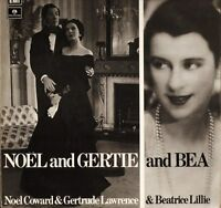 NOEL COWARD gertrude lawrence and beatrice lillie PMC 7135 uk LP PS EX/EX